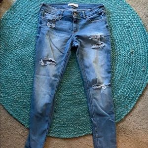 Hollister holy jeans